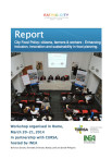 EatingCity Report City Food Policy Roma 2014